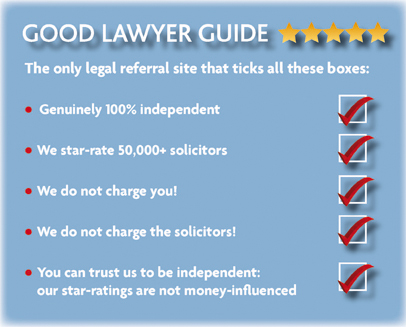 We provide free, independent, and unbiased advice on choosing a solicitor